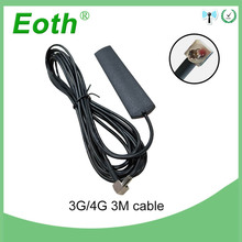 все цены на 20pcs 3G 4G LTE antenna TS9 male connector patch antena antenne 700-2600MHz with 3 m extension cable modem and router repeater онлайн