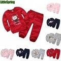 Autumn&spring Children clothing Sets Baby boys Sets Kids tracksuits cotton dinosaur/monkey/bear/horse sweatshirts/coats+trousers