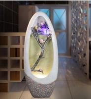 Фонтан для гостиной. Водяное украшение. Feng (Лея фенг) колесо шуй. Новый подарок для увлажнителя .. 042