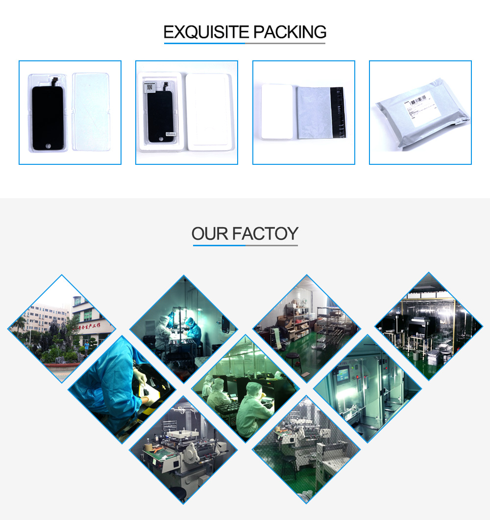 HTB1Ew91ajzuK1RjSspeq6ziHVXaB AAA+++ Screen on For iPhone 5 5c 6 LCD Touch Screen Assembly Digitizer Replacement Module for iPhone 6s 5s display No Dead Pixel