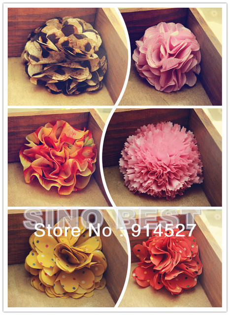 Free Shipping  Hot Selling Sexy Women Artificial Flowers Hair Clips Korean Style Girls' Hair Accessories for Wedding Beach