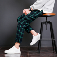 2018 New Spring Fashion Youth Small Fresh Classic Wild College Wind Original Japanese Black Wall Plaid