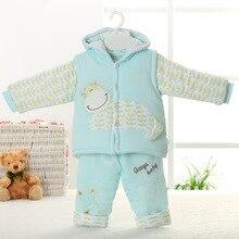 Комплекты для новорожденных одежда для малышей зимние комплекты из 2 предметов для малышей хлопковая одежда для маленьких девочек одежда для маленьких мальчиков, roupas de bebe