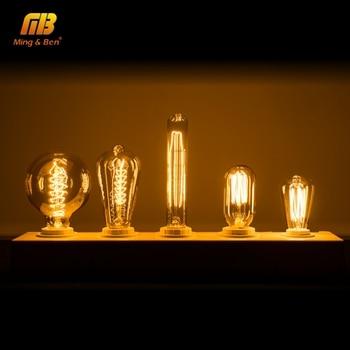 E27 E14 LED Retro Edison Bombilla 60W 40W 25W Neuheit Filament Antike Lampe Für Restaurant Hotel Party Außen Dekoration Lampe