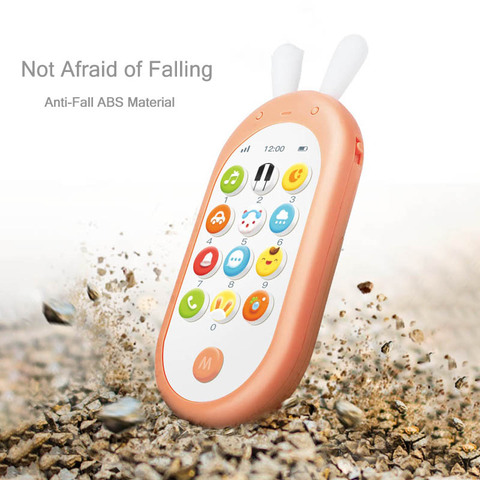 Beiens Baby Phone Toy Mobile Phone for Kids Telephone Toy Enfant Early Educational Mobile Toy Chinese/English Learning Machine Multan