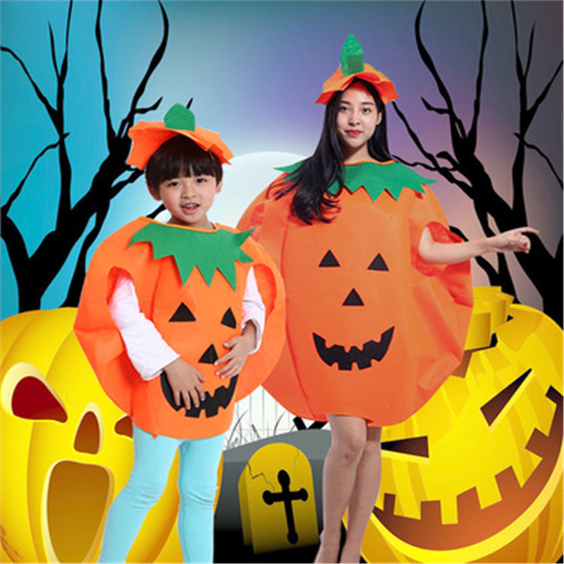 Cosplay Halloween Pumpkin Costume Children Halloween Pumpkin Costumes Adult Pumpkin Wear Performance Costume Hot Sale