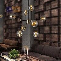 led e27 Нордик Железыне Стеклянные Дизайнерские Magic Bean Светодиодные Лампы.Светодиодные Светильники Люстры Подвесные.Светильники Подвесные Св