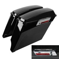 5 Extended Stretched Hard Saddlebag For Harley Electra Road Glide King Touring 1993 13 Motorcycle