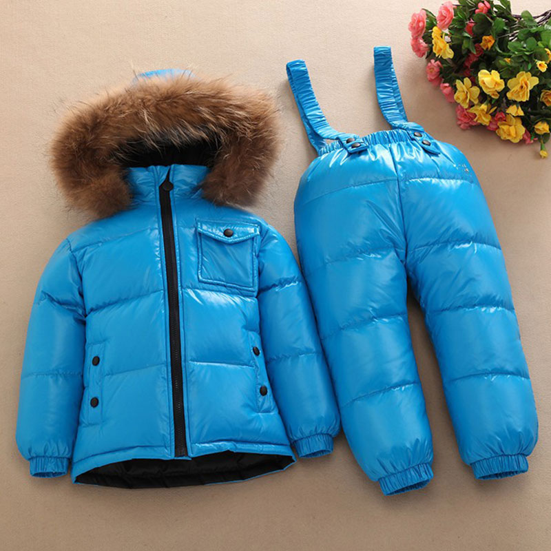 Winter Down Jacket Children's Sets Girl Clothing White New Year  A Lively Girl Dressed Down Jacket  In Park Happy To Play lole брюки ssl0009 lively pants 35 in xs black