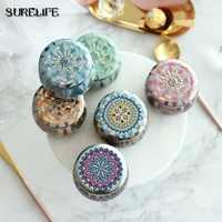 20pcs Retro Tin Box Candy Jewelry Coin Storage Container Candle Holder Wedding Gift