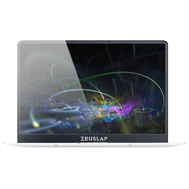 ZEUSLAP 15,6 дюйма 6 ГБ ОЗУ 256 ГБ SSD Win10 1920X1080 P ультратонкие Intel 4 ядра быстрая загрузка дешевые ноутбук Нетбуки Тетрадь компьютер
