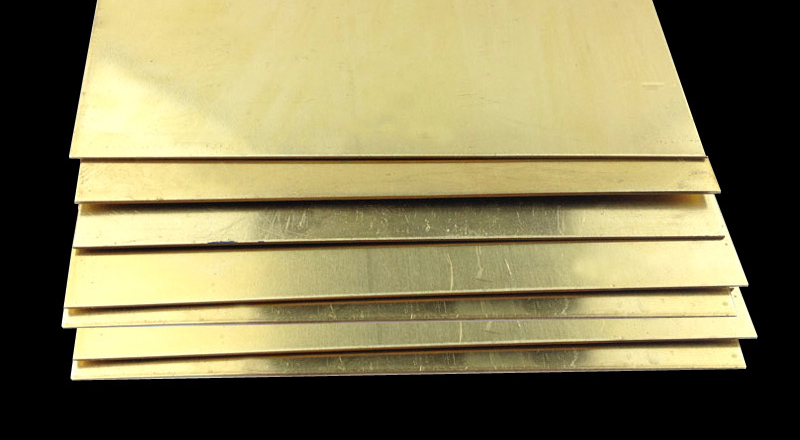 H62 Brass Sheet Thickness 2 0x300x300mm Brass Plate Customized Size CNC Frame Model Mould DIY Contruction
