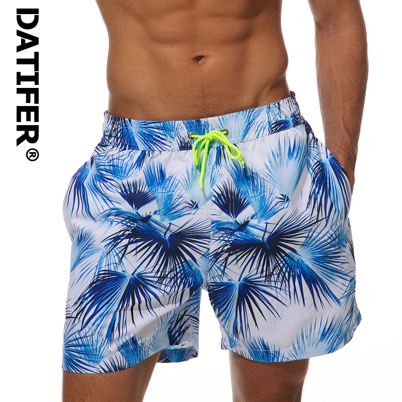 2019 Datifer Summer Mens   Board     Shorts   Surf Siwmwear Quick Dry Beach   Shorts   For Men Athletic Gym Running   Shorts