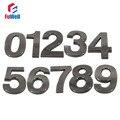 Digital House Number 100mm Height 0/1/2/3/4/5/6/7/8/9# Optional ABS Plastic Black Color Home Hotel Door Number