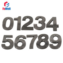 Buy black house number and get free shipping on AliExpress com