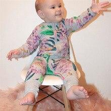 Kids Baby Clothing Long-Sleeved Romper