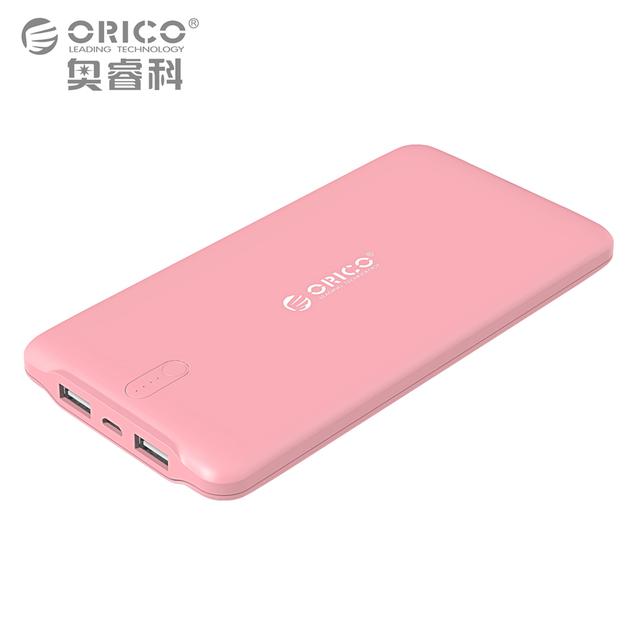 Orico 10000 mah usb universal de bateria de backup powerbank carregador portátil móvel externo para o telefone móvel