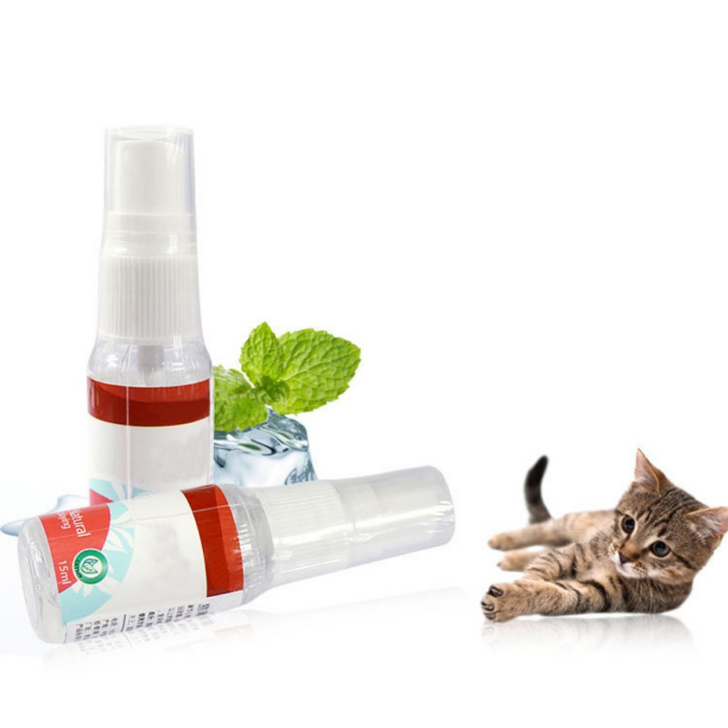 Non-toxic Natural Catnip Liquid Spray <font><b>Boredom</b></font> Solution for Effectively Excite and Entertain Cats For Gatos image