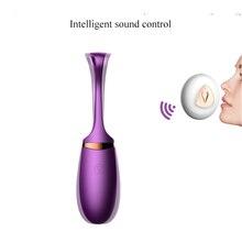 Vibrating Egg Sex Toys for Women Voice Control Vibrator Sex Shop 10 Speeds Remote Control Vagina