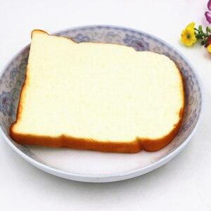 Image 5 - 1 шт., хит, 14 см, большой мягкий аромат, нарезанный хлеб, тост, детская игрушка, ручная Подушка, подарок, украшения, миниатюрные Детские кухонные игрушки