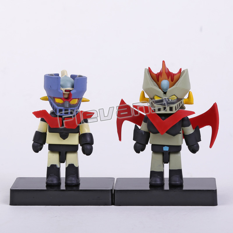 Anime Cartoon Mazinger Z Mini PVC Action Figures Collectible Toys 2-pack 8cm patrulla canina with shield brinquedos 6pcs set 6cm patrulha canina patrol puppy dog pvc action figures juguetes kids hot toys