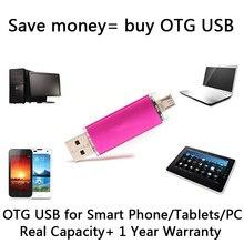Pendrive 512GB Flash Drive USB 2 0 100 32GB 64GB Smart Phone Tablet PC OTG External