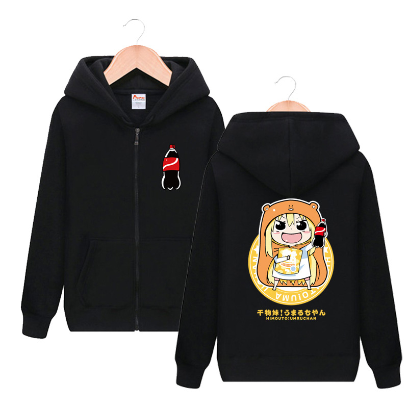 Himouto! Umaru-chan Doma Umaru Cute Print Hooded Hoodie Cosplay Costume Men Women Spring Autumn Casual Sweatshirt Streetwear
