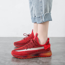 Flying Knitting Women's Fashion Sneakers Flat Heel Breathable Mesh Women Sneakers Slip On Low Top Casual Shoes Woman XZ178 suede low top slip on sneakers