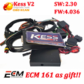 Kess Newest version v2.30 OBD2 Tuning Kit KESS V2 SW4.036 SW 2.30 ECU Chip Tuning tool + free ECM Titanium software DHL shipping