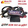 Kit de Ajuste KESS V2 OBD2 Kess Nova versão v2.30 SW4.036 SW 2.30 ecu tuning chip ferramenta + free software ecm titanium dhl grátis