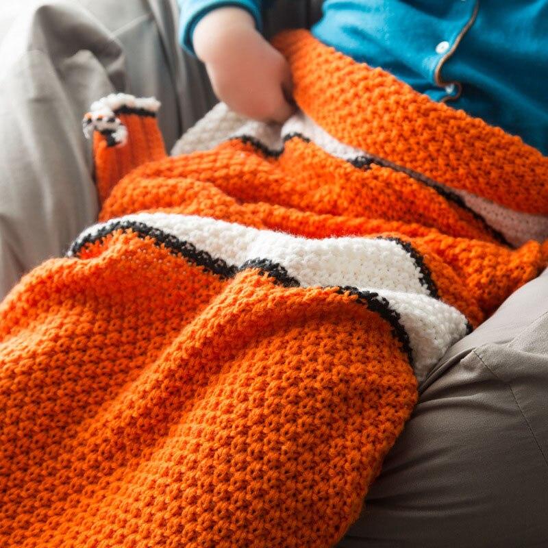 Colorful Frei Gestrickte Babydecke Muster Leicht Ensign - Decke ...