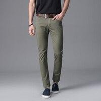 TANLIYINFU2017 Spring Summer High Quality Casual Pants Men Brand Work Pants Clothing Slim Fit Cotton Formal