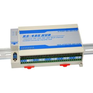 Image 3 - Lightning Protection Isolated Two Sizes 8 way Eight port RS485 Hub Repeater Sharing Device Splitter Module