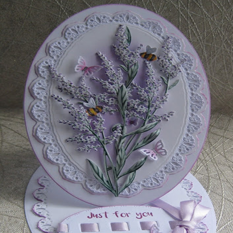 Lemon Verbena Bloom Flower Metal Cutting Dies For DIY Scrapbooking Embossing Paper Cards Making Crafts Supplies 2019 New Dies