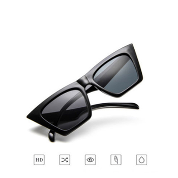 Vintage Sunglasses Women Cat Eye Luxury Brand Designer Sun Glasses Retro Small Red ladies Sunglass Black Eyewear [category]