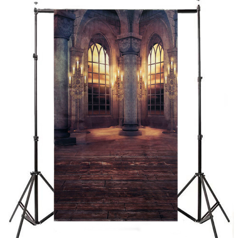 5X7ft Retro Palace Cloth Vinyl Photography Background For Studio Photo Props Photographic Backdrops Cloth 210cm x 150cm vinyl photography background for studio photo props brick wooden wall photographic backdrops cloth 210cm x 150cm