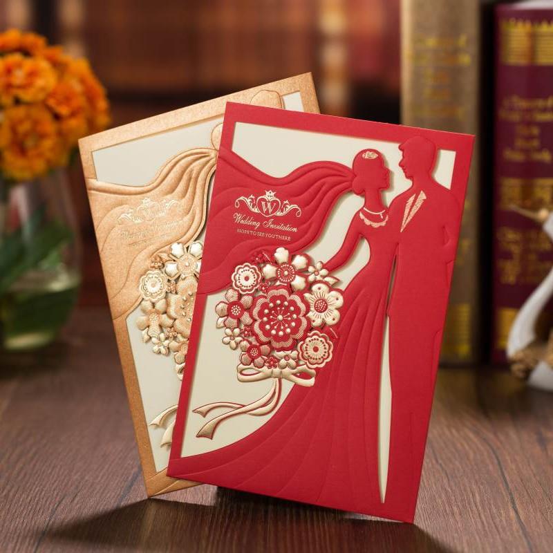 1pc Sample Marriage Invitation Cards