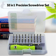 Screwdriver Set 32 in 1 Torx Screwdriver Repair Tool Set For iPhone Cellphone Tablet PC Worldwide Store Hand tools(China)