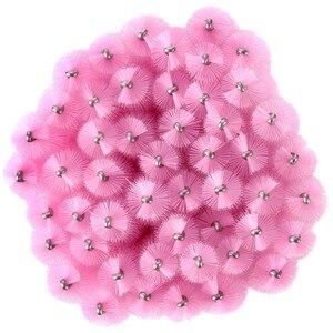 Image 2 - 1000pcs חד פעמי מסקרה שרביטים מוליך בתפזורת ריס הארכת מברשת גבות מברשות כלים עבור אביזרי נשים