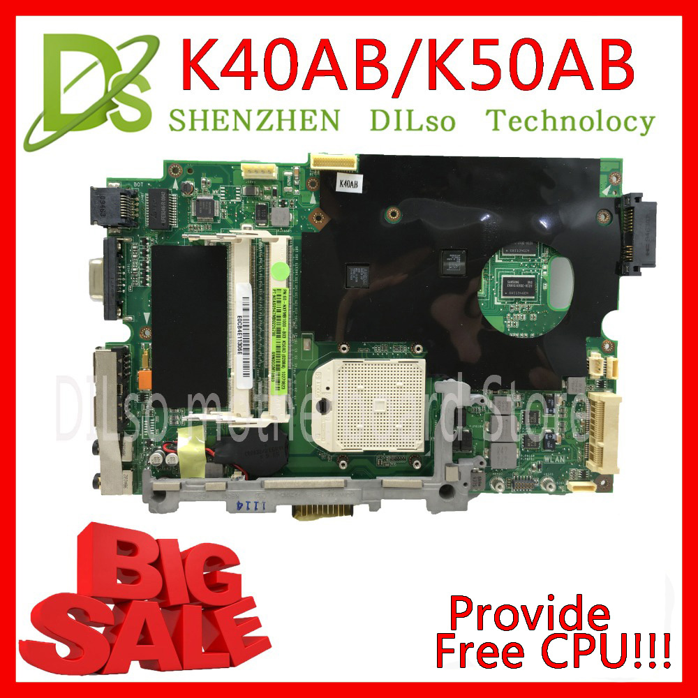 KEFU K40AB placa base para asus placa base de computadora portátil K40AB K40AD K40AF K50AB K50AD K50AF placa base de placa base