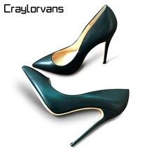 Craylorvans de Calidad Superior Tacones Altos Zapatos 2017 de Las Mujeres Bombas Sexy Punta estrecha Women Shoes Chaussure Escarpins