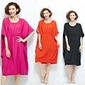 Новая Мода Летние Платья Материнства Бат Коротким Рукавом Gravida Длинные Платья Одежда для Беременных Maternidade Беременности B74