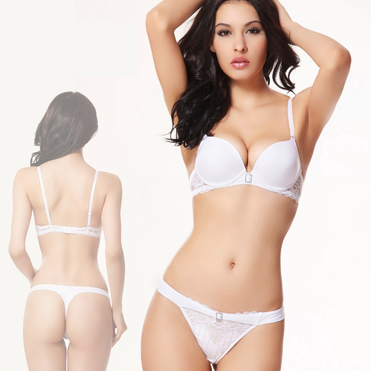 2015 New brand women Lace Bra Set Push Up Sexy Underwear Underwear ...