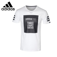 ADIDAS Original New Arrival 2017 Mens NEO Label M GRAPHIC T Men's T-shirts short sleeve Sportswear for men