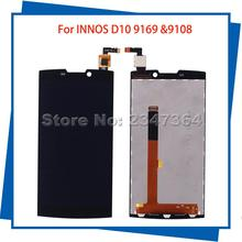 For INNOS D10 FPC 9108 Or 9169 LCD Display Touch Screen Black Color High Quality Mobile Phone LCDs