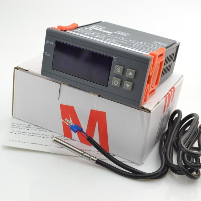 Famous M brand Design in Japan  temperature switch 0.1C accuracy Thermostat Regulator Temperature Controller + sensor