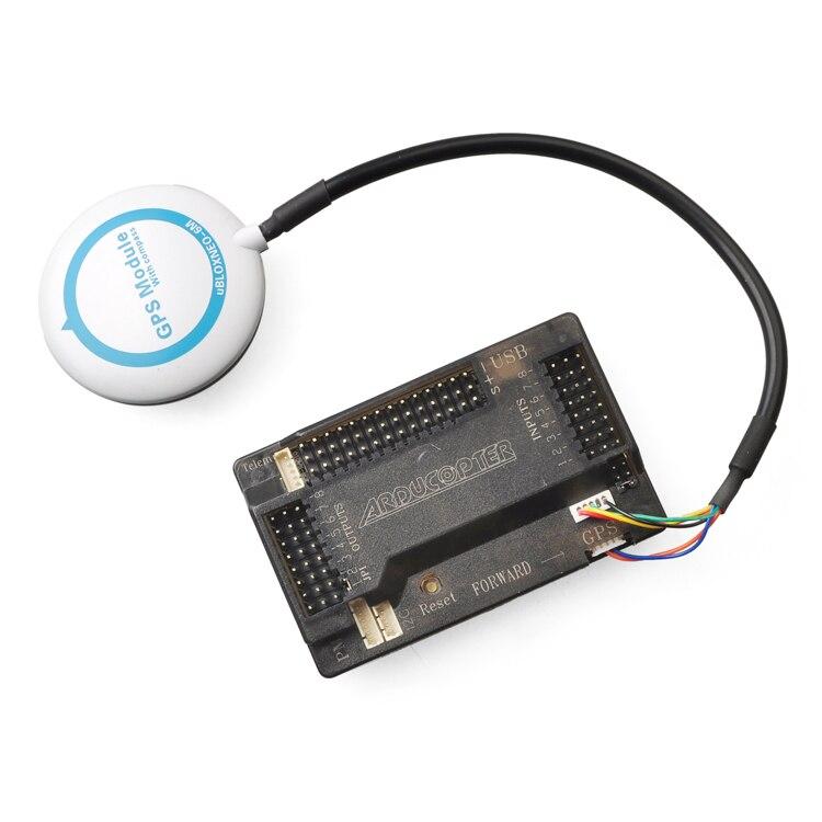 JMT Mini 6M GPS Module APM 2.5/2.6/2.8 / CC3D / PX4 PXI PIX / SP Racing F3 / Naze32 Flip32 NEO-6M GPS for DIY FPV Drone