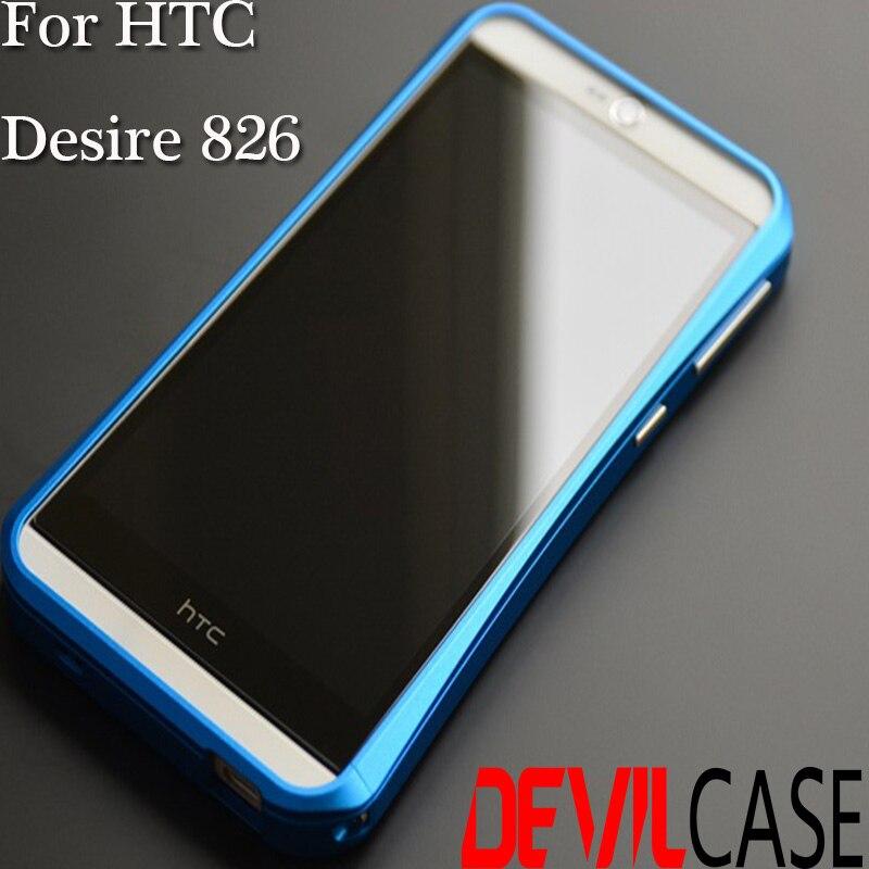designer fashion 930ad 08555 For HTC Desire 826 DEVILCASE Aluminum Alloy Metal Bumper Frame CNC ...