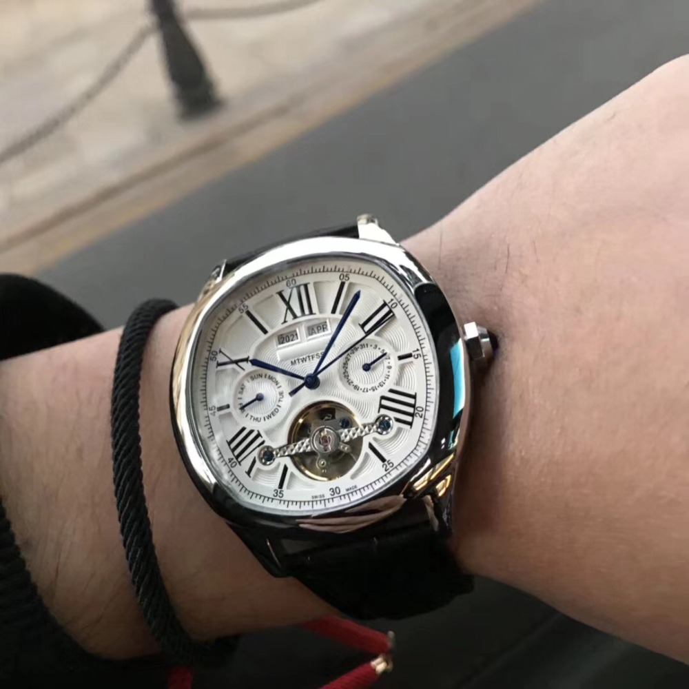 Mens Watches Top Brand Runway Luxury European Design Automatic Mechanical Watch S0729 цена и фото