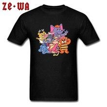 The Lion King Funny T Shirts Cute Little Animal Park Club Elephant Monkey T-shirts Fools Day Birthday Gift Shirt Men Tshirts